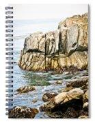 Shores Of Pebble Beach Spiral Notebook