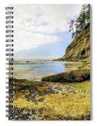 Short Sands Beach, Oregon Spiral Notebook