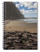 Short Sands Logs Spiral Notebook