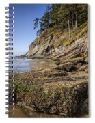 Short Sands Rocks Spiral Notebook