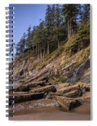 Short Sands Waterfall Spiral Notebook