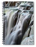Shoshone Falls Close Up Spiral Notebook