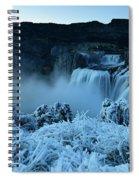 Shoshone Falls Panorama Spiral Notebook