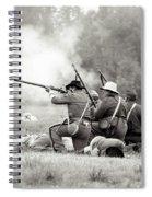 Shots Fired Civil War Spiral Notebook