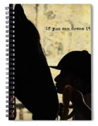 Show Success Quote Spiral Notebook