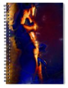 Showered By Mars Virility Spiral Notebook