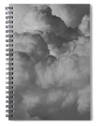 Shrimp Clouds Spiral Notebook
