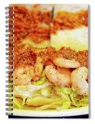 Shrimp Po-boy Spiral Notebook