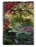 Shrine In Watercolors Spiral Notebook