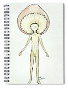 Shroom Spiral Notebook