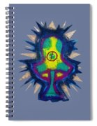 Shroom Transparent Spiral Notebook