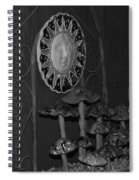 Shrooms And Sun Spiral Notebook