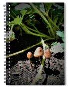 Shrooms Spiral Notebook