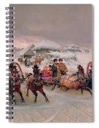 Shrovetide Spiral Notebook
