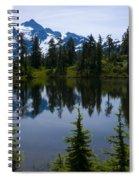 Shuksan In Spring Spiral Notebook