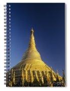 Shwedagon Paya Spiral Notebook
