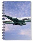 Sia A380 9v-ska Spiral Notebook