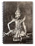 Siam: Dancer, C1870 Spiral Notebook