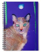 Siamese Cat Spiral Notebook