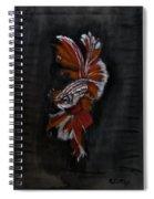 Siamese Fighting Fish Spiral Notebook