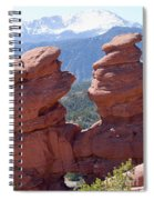 Siamese Twins And Pikes Peak Spiral Notebook