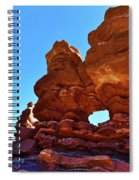 Siamese Twins Natural Window Spiral Notebook
