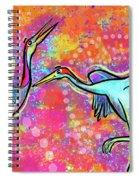 Siberian Cranes Spiral Notebook