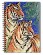Siberian Tiger Spiral Notebook