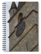 Sibiu Clock Tower Spiral Notebook