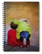 Sibling Love Spiral Notebook