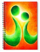 Siblings... Big N Little Spiral Notebook