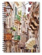 Sicily Spiral Notebook