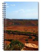 Sicily Landscape Spiral Notebook