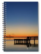Calmer Waters Spiral Notebook