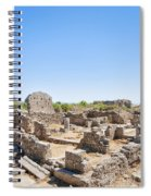 Side Ancient Shop Ruins Spiral Notebook