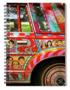 Side And Tire Of The Car-nola Spiral Notebook