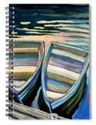 Side By Side Spiral Notebook