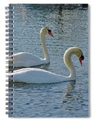 Side By Side For Life  Spiral Notebook