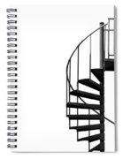 Side Entrance Spiral Notebook