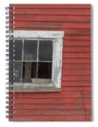 Side Of An Old Red Barn Quechee, Vermont Spiral Notebook