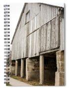 Side Of The Amana Farmer's Market Barn Amana Ia Spiral Notebook