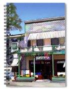 Side Street Cafe Los Olivos Ca Spiral Notebook