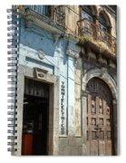 Side Street Homes Antiqua Guatemala 3 Spiral Notebook