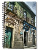Side Street Homes Antiqua Guatemala 5 Spiral Notebook