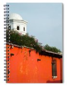 Side Street Homes Antiqua Guatemala Spiral Notebook