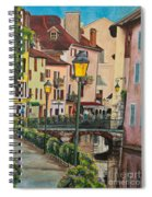 Side Streets In Annecy Spiral Notebook