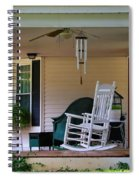 Side View Of Porch Spiral Notebook