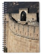 Side View Of The Great Wall Spiral Notebook