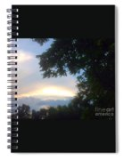 Side Ways Glance Of Nature Spiral Notebook
