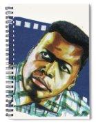 Sidney Poitier Spiral Notebook